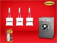 Un interesante proyecto para este fin de semana. ¿Si no tienes orden al lavar la ropa que te parece esta idea de Command?