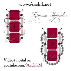№3 Set for Bracelet with SuperDuo and Tile beads + free video-tutorial by Anchik