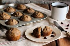 Cranberry Flaxseed Muffins by pastryaffair, via Flickr