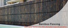 Bamboo Fencing - Bamboo Screening