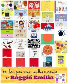 32 libros para niños y adultos inspirados en Reggio Emilia