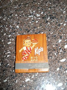 Vintage Kip's Big Boy Matches by doyourememberwhen on Etsy, $5.00