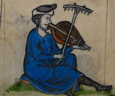 Detail from medieval manuscript, British Library Stowe MS 17 'The Maastricht Hours', f145v