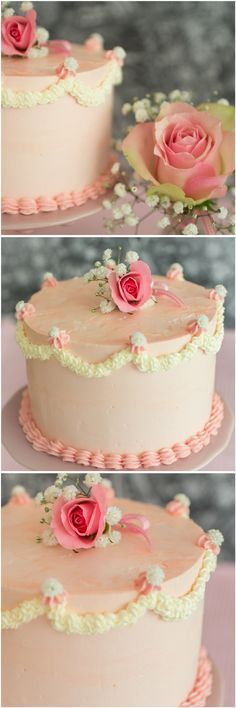 Exquisite floral embroideries, stunning cutouts and delicate lace. Morning Food, Pretty Cakes, Amazing Cakes, Vanilla Cake, Panna Cotta, Cake Decorating, Food And Drink, Delicate, Sugar