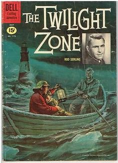 THE TWILIGHT ZONE #1173(Four Color)VG- comic~Phantom Lighthouse, Eternal Youth !