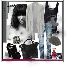Rock style perfect!