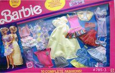 *1991 10 Fashion Barbie outfits 2 #785-3 Barbie I, Barbie World, Barbie And Ken, Barbie Outfits, Barbie Clothes, Justin Bieber Merchandise, Outfit Sets, Nostalgia, Childhood