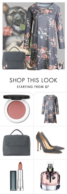 """""""Bez naslova #3359"""" by gita016 ❤ liked on Polyvore featuring Orciani, Gianvito Rossi and Maybelline"""