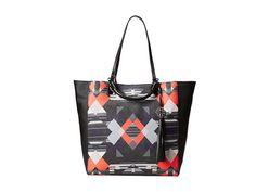 Rafe New York - Joey Tote (Multi Abstract) Tote Handbags