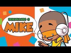 Como desenhar Mike - How to draw Mike