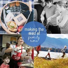 10 Ideas for Making the Most of Family Time