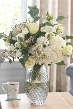 Best known for iconic floral prints, Laura Ashley are introducing their new fresh flowers range, available at Next. Perfectly selected to create a timeless and elegant look, this bouquet is a collection of white and cream blooms featuring beautiful large hydrangeas, Kenyan roses and ranunculus, paired with natural eucalyptus stems. This luxurious bouquet will make a stunning gift for all occasions.