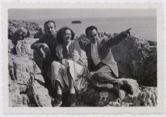 Paul, Nusch Eluard et Man Ray