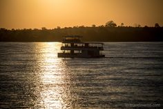 A sunset cruise on Zambezi river is a wonderful way to soak up the atmosphere of this magnificent river before it plummets down to make Victoria Falls. Den, Cruise, Africa, River, Celestial, Explore, Sunset, Outdoor, Zimbabwe