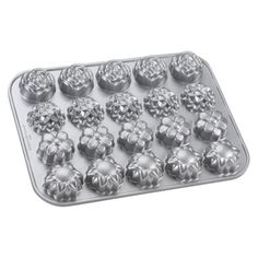 Nordic Ware Cast Aluminum Pettie Four Pan - So Adorable