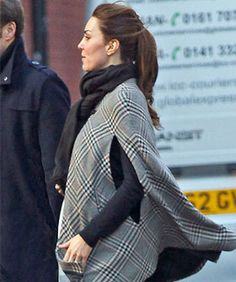 I want Kate's cape! But it appears to be Zara way back from 2010. sigh.