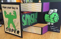 Hulk birthday card