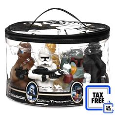 Star Wars Set Of 7 Character Bath Toys - Disney Parks Exclusive  #StarWars