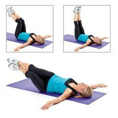 For getting rid of spillover on hips