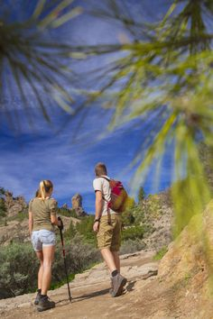 Hinking in Gran Canaria ... Discover the highest point in Gran Canaria!!! Roque Nuble will offer you the best views overlooking all the beauties of the island.