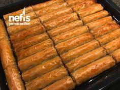 Kadayıflı Parmak Sarması ( Özel Lezzet Çok Pratik) Turkish Recipes, Italian Recipes, Ethnic Recipes, Fish And Meat, Fish And Seafood, Turkey Today, Turkish Sweets, Turkish Kitchen, Fresh Fruits And Vegetables