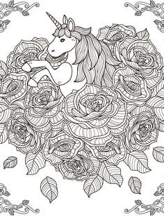 18 Absurdly Whimsical Adult Coloring Pages Davlin Publishing Find This Pin And