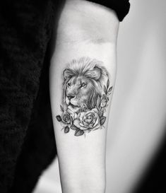 Lion tattoo by Dragon Art