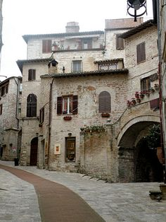 Assisi, Umbria, Italy, this is the bed and breakfast where I stayed, love it!...I want to go back!