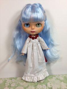Custom Blythe Doll OOAK Art Doll Named Skylar Snow by EmmyBlythe