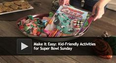 Gulfport, FL - Here's how to keep little ones occupied during the big game. Montessori Activities, Activities To Do, Super Bowl Activities, Super Bowl Sunday, Kid Styles, Children, Kids, Projects To Try, Lunch Box
