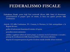 Risultati immagini per federalismo fiscale