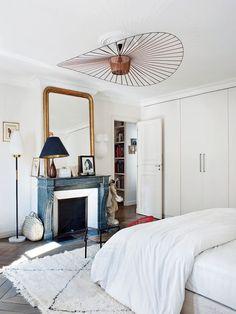 La bohème chic chic à Paris - L'appartement de Caroline Gayral, fondatrice de la boutique Fragments