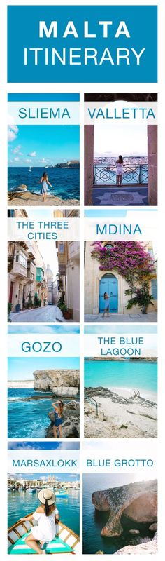malta travel itinerary by To Vogue or Bust
