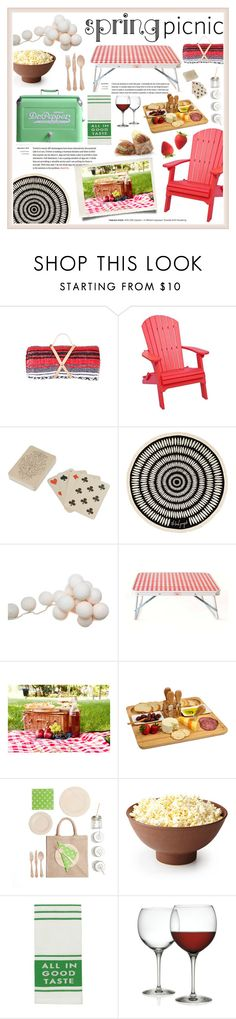 """Spring Picnic"" by sabbbycat ❤ liked on Polyvore featuring interior, interiors, interior design, home, home decor, interior decorating, DutchCrafters, Dot & Bo, The Beach People and Picnic at Ascot"