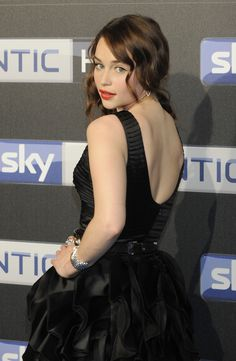 Emilia Clarke - Sky Atlantic HD Launchparty, May 23rd 2012 look at this pose right here wow so pro