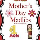 Free! Mother's Day Mad Libs~ fun way to review parts of speech and synonyms!      - Repinned by @PediaStaff – Please Visit ht.ly/63sNtfor all our pediatric therapy pins