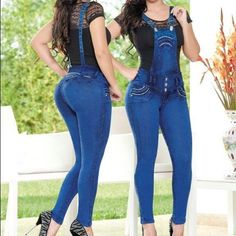 Colombian Butt Lift Overall Stunning Imported Colombian Jeans                            Gorgeous designs                            Bright Colors                           Finest material                          Excellent quality                            Sizes : 1/2-3/4-5/6-7/8-9/10-11/12USA Sizes                    Տㄒℛعㄒʗℋㄚ & ㄩƝⅈℚuⅇ   we personally choose each piece to offer the best designs that combines quality, sensuality, elegance and style.  @Latina_Style's Closet  Poshmark Jeans…