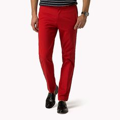 Image for Luxury Straight Fit Twill-Chino from TommyDE