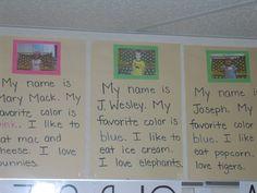 Mrs. Cates' Kindergarten: Beginning of the Year Activities