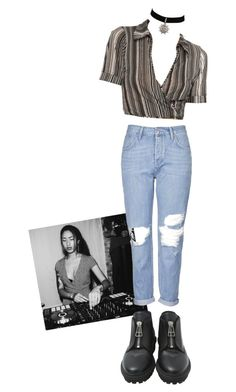 """Untitled #1196"" by adolescentdazecraze ❤ liked on Polyvore featuring Topshop, Jocelyn and Balenciaga"