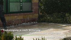 #Reinigung #Terrassenplatten Garage Doors, Videos, Outdoor Decor, Weather Vanes, Carriage Doors