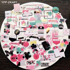 YPP CRAFT 70pc Never Give Up Cardstock Die Cuts for Scrapbooking Happy Planner/Card Making/Journaling Project-in Embellishments from Home & Garden on Aliexpress.com   Alibaba Group