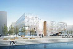 Perforated Screen Architecture | Havnespeilet – Havneparken | Det Stavangerske Investeringsselskap AS