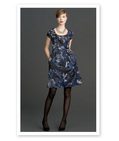 the begonia dress from the new mad men collection at banana republic