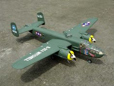B-25 Mitchell 1800mm Large Nitro Fiberglass Radio Control Airplane