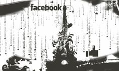 Facebook, Black and White (click to view) Facebook Black, Black And White Wallpaper, People Like, Graphic Design, Graphics, Printmaking, Visual Communication