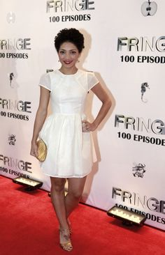 FRINGE 100TH EPISODE PARTY and FINALE EVENT: FRINGE cast member Jasika Nicole arrives on the red carpet during the FRINGE 100TH EPISODE PARTY and FINALE EVENT at the Fairmont Pacific Rim Hotel on Saturday Dec. 1st in Vancouver, British Columbia.  CR: Michael Courtney/FOX