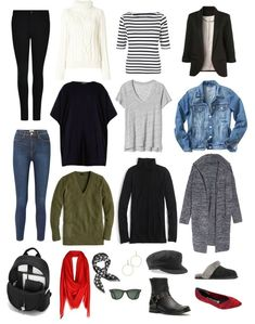 capsule wardrobe for the work from home woman and SAHMs with sample outfits, accessorizing tips, plus size options and more!