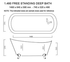 Classic Fibreglass Baths For Sale - Slipper Baths Dual End Baths Classic Double End Baths
