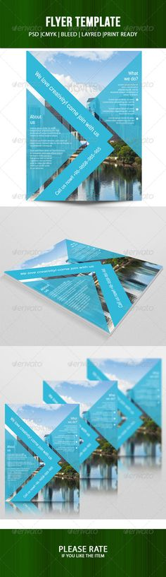 Corporate Flyer Template  Vol   Flyer Template